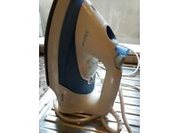 Philips Mistral 312 white/blue iron
