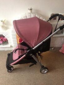 Pink mamas and papas pushchairs. Excellent condition!