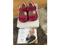 Clarks Infant Shoes Size 4 E