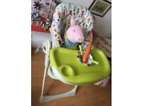 Feeding High Chair Mamas and Papas