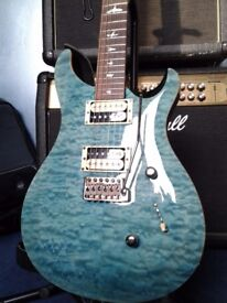 2014 PRS SE Custom 24 Flamed Maple carved top