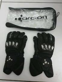 Arc-on Competizione gloves NOT Dainese or Alpinestar