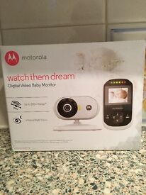 Motorola digital baby monitor