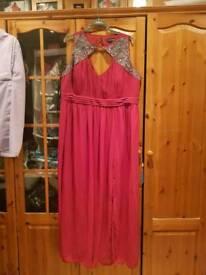 Little mistress evening dress size 28