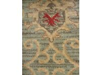 Axminster Carpet measuring 9ft 10 inches by 4ft 4 inches