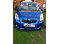 Toyota Yaris 2007 blue colour 1. 3 petrol clean car 5 door 6 month MOT mileage is 87,000 Price £2599
