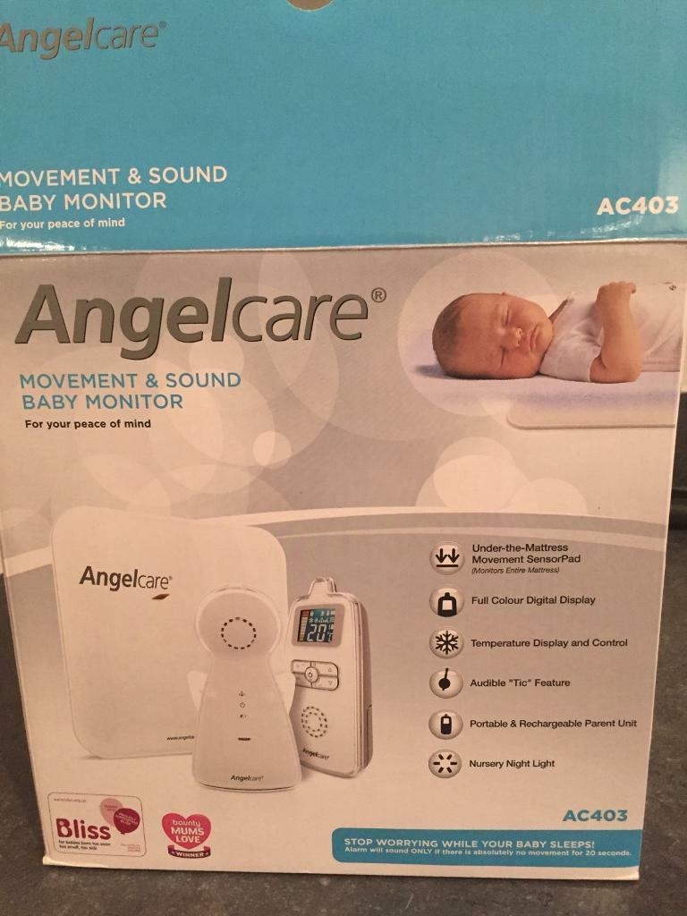 Baby monitor movement and sound Angelcare (local pick up)