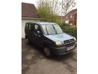 52 Fiat Doblo 1.2 Mpv - Spares Or Repair