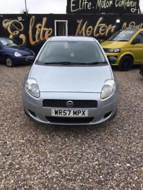 Fiat grande punto mk1 1.2 petrol active 5 door manual grey