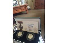 Victoria cross fifty pence coin with box