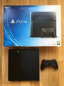 PlayStation 4 with 1TB HDD and Duel Shock Controller