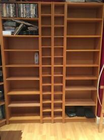 Billy bookcases.