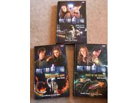 Doctor Who books x3