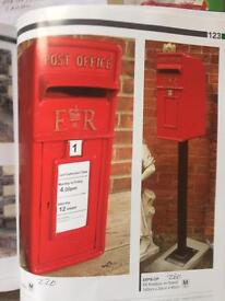 Post box sale from £220