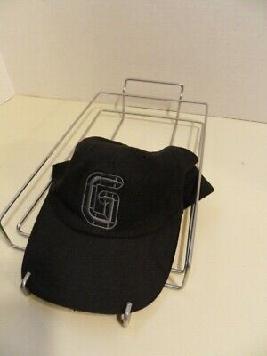Store Display Fixtures 10 Used Slatwall 10 Cap Or Hat Displayers Silver
