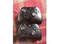 Official Xbox one pads (unofficial battery packs)
