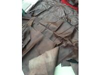 Genuine leather pieces