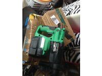Hitachi DH24 DVC hammer drill