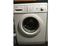 Bosch 7kg 1200spin washing machine (can deliver)