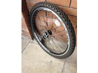 Mountain bike wheels seize 26