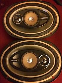 Sony Xplod 6x9 speakers 200w