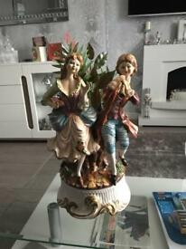 Capodimonte 18 inches high