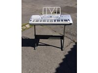 Electric keyboard & stand