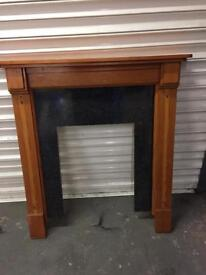 Fire place surround harth £15