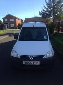 Vauxhall Combo Van with window cleaning system.