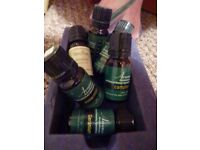 Mixed lot or sell separately: 15 bottles of essential oils. Massage, room scent, oil burners etc.