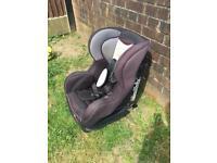 Isafix pamper childs car seat
