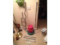 BodyRip Weights and Bars Set.