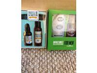 2 Bnib men's gift sets. Beard oil grooming and brut set