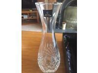 Cut glass vase/ carafe