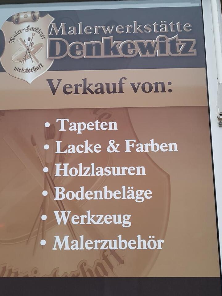 Malerfachgeschäft Denkewitz in Sachsen-Anhalt - Schkopau