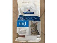 Hills prescription diet cat food, out of date