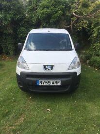 Peugeot Partner white van