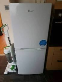 white candy 5ft fridge freezer