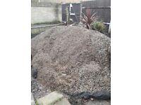 Garden gravel free