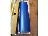 Satin Matte Blue pearl Vinyl, 23 metres