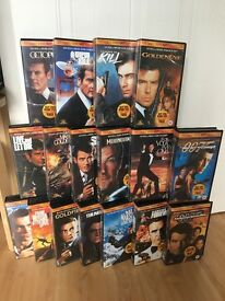 The James Bond 007 Collection - VHS Video