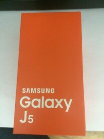 Samsung Galaxy J5, 8GB, Unlocked, Gold Color, Brand New, For Sale