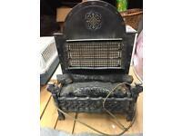 Vintage electric fire 3kw