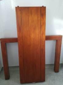 Console table hardwood