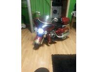 Eelectric kids motorbike