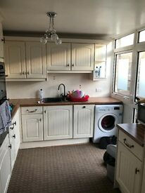 Three bedrooms 1 toilet 1bathroom fully furnished mid terrace house in beautiful countryside