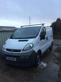 Vauxhall vivaro (low mileage)