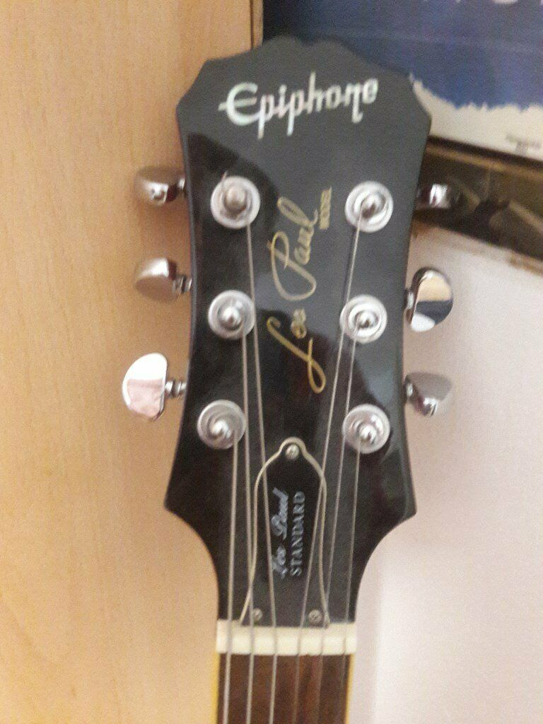 Epiphone les Paul Standard with amplifier and lead at only £200   in  Haringey, London   Gumtree