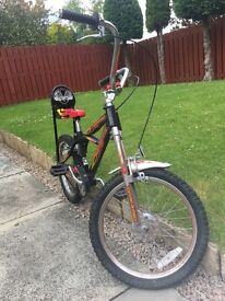Retro style bike
