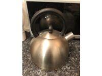 Water/Tea Pot/Kettle Stainless steel/blackVATTENTÄT